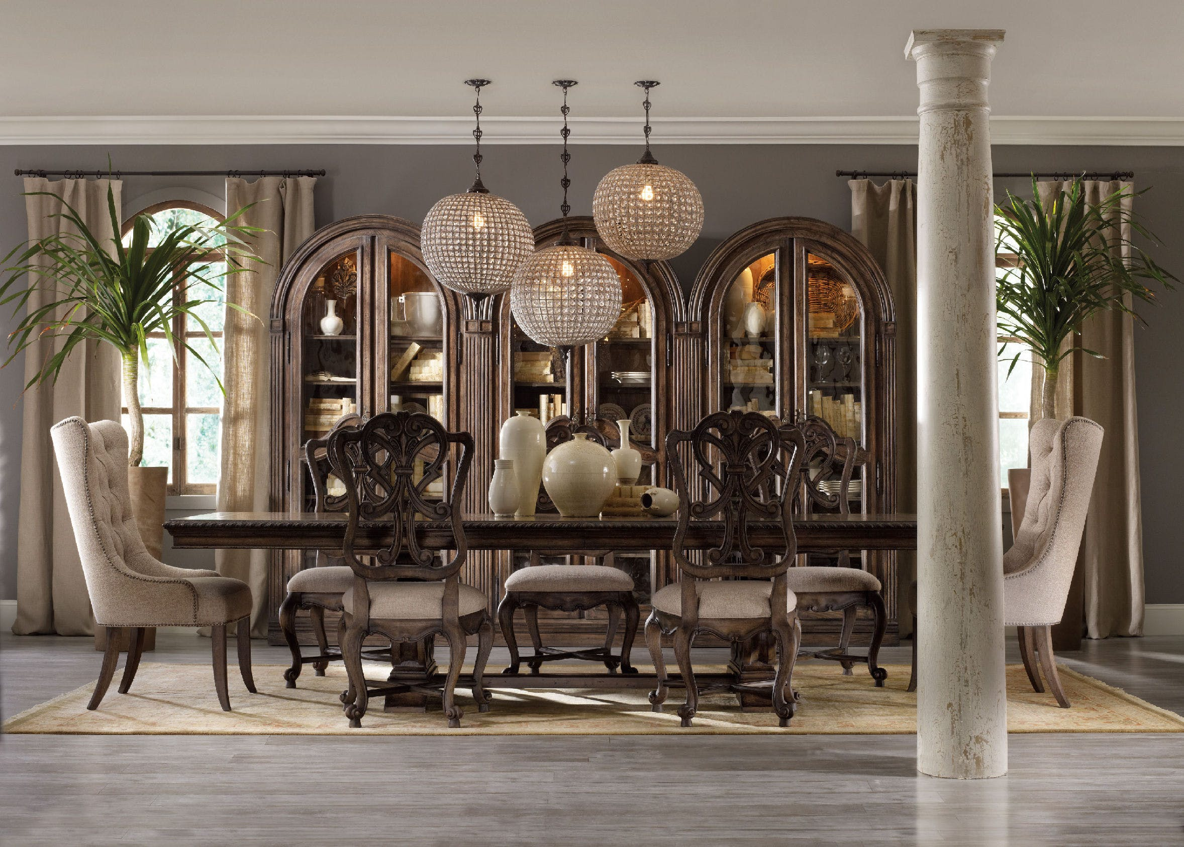 How to create a beautiful dining area